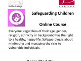 Safeguarding Children – Online Course